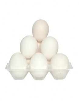 Huevos extra blanco 12 Unidades